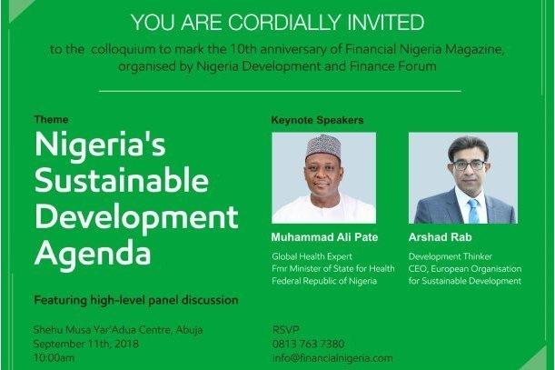 Financial Nigeria hosts 10th Anniversary Colloquium in Abuja